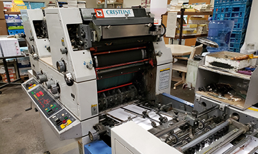 Keystone Instant Printing's Offset Press